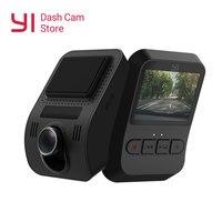 YI Mini Dash Camera Full HD 1080P Video Car DVR WiFi Recorder International Version 30fps Discreet Design 2.0 LCD Screen Black