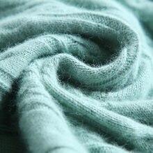 2020 год осень и зима новинка свитер из кашемира кружевной с