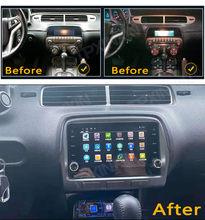 6 + 128G Android 10,0 Für Chevrolet Camaro 2010-2015 Touch screen Auto GPS Navigation Stereo Kopf Einheit multimedia-Player Auto Radio
