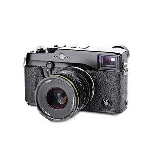 Image 3 - Kamlan 28mm f1.4 와이드 앵글 APS C 미러리스 카메라 용 대형 조리개 수동 Fo cus 렌즈