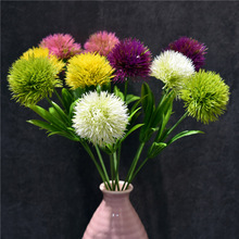 10PC/Set Artificial Flowers Dandelion Home Decorative Plastic Flower Wedding Decoration Valentines Day Decor