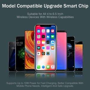 Image 5 - 아이폰 XS 맥스에 대한 YKZ 제나라 무선 차량용 충전기 화웨이 xiaomi에 대한 삼성 S10 빠른 무선 충전기 자동차 마운트 휴대 전화 홀더