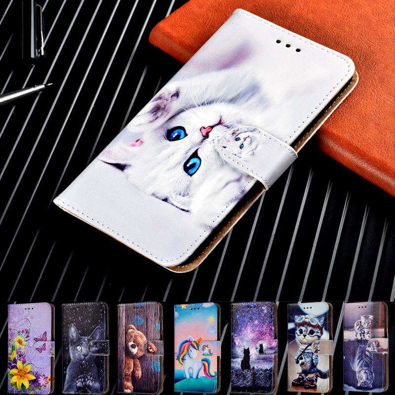 Phone Case For Fundas Alcatel 1 1C 1S 1V 2020 1X 2019 5003D 5008Y 1A 1B 3V 5V Wallet Flip Cover For Alcatel 1 C S X 2019 Coque(China)
