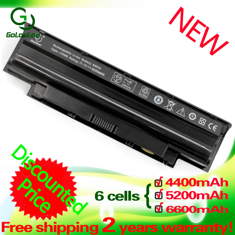 Golooloo 11.1v Battery For Dell J1knd For Inspiron N5110 N7010 N3010 N3110 N4010 13R 14R 15R 17R M501 M511R N4050 N4110 N5010