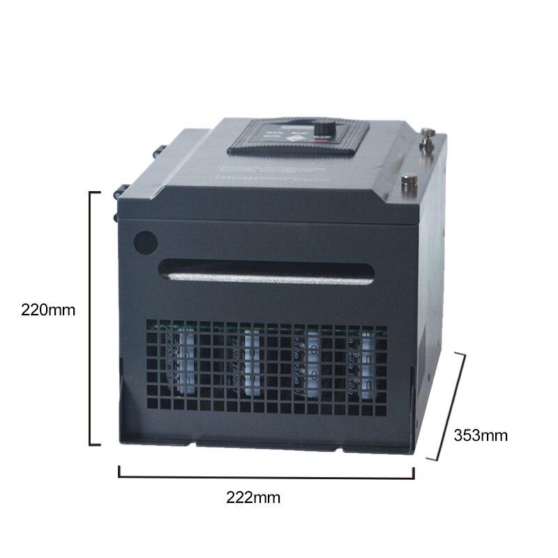 WK600 векторное управление преобразователь частоты трехфазный инвертор переменной частоты 380 В 15 кВт/18,5 кВт/22 кВт ac мотор регулятор скорости
