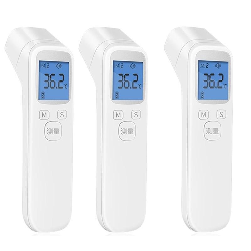 LCD numérique sans contact IR thermomètre infrarouge front corps bébé adulte