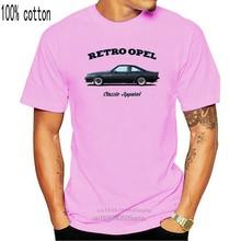 Футболка OPEL MANTA GT E Ретро OPEL. Классический автомобиль. Немецкий. Модифицированный. GTE