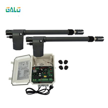 GALO Heavy Duty Worm Gear Automatic Swing Gate Opener 400KG per leaf(photocells,lamp,button,keypad,gms operator optional)
