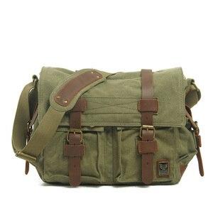 Мужская сумка-мессенджер, повседневная Холщовая Сумка, мужская сумка, оригинальная паровозик, боковая сумка, сумка на плечо, мужской рюкзак,...