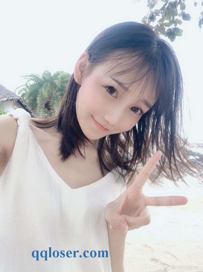 """超萌的妹子 @rainbabe_ 原来真名叫""""陈渝珺"""""""