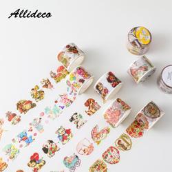 1pcs/1lot Washi Masking Tapes Animal strawberry cake Decorative Adhesive Scrapbooking DIY Paper Japanese Stickers 5m