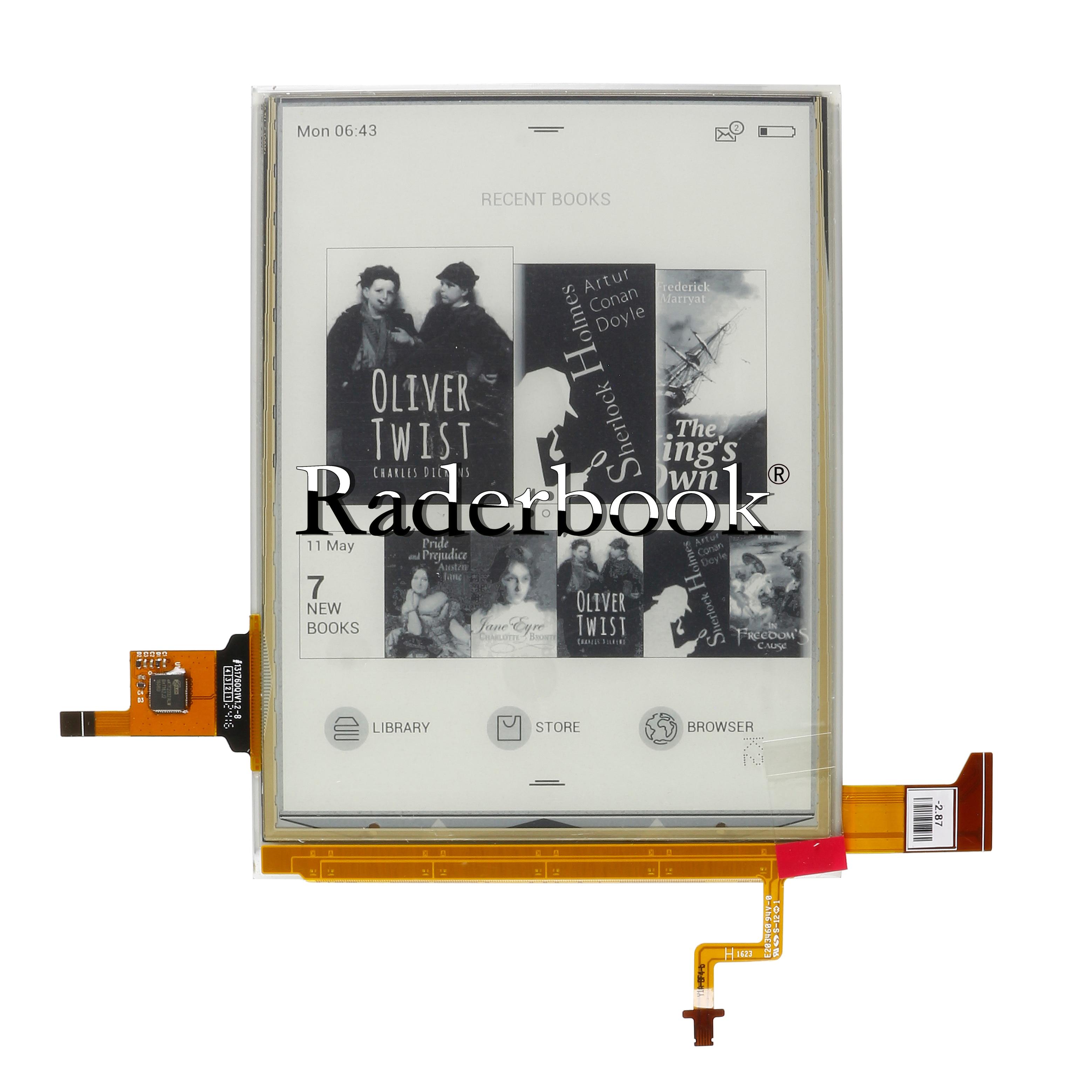 Panel táctil y pantalla lcd de 6 pulgadas ED060XH7, para ONYX BOOX, Vasco da Gama, con retroiluminación, Eink para ONYX BOOX, Vasco da Gama