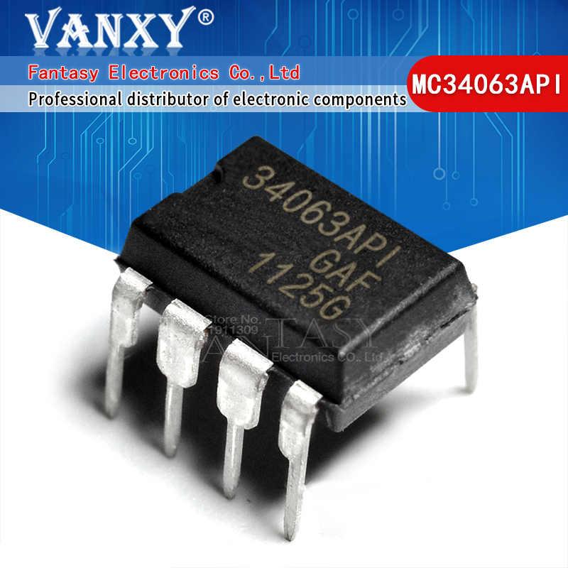 10PCS MC34063API DIP-8 new and IC in-line DIP8 switching regula xkTO№r