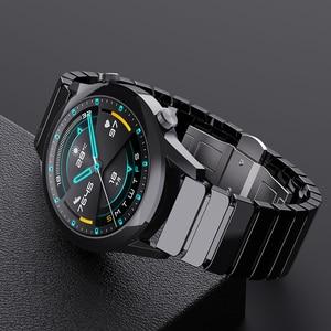 Image 4 - 22mm pulseira de relógio cerâmica para honra magic 2 46mm gt2 gt2e pulseira de relógio