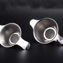 1 шт. ситечко для чая из нержавеющей стали мелкая сетка для китайского кунг-фу чайный лист фильтр-Воронка для чая и кофе кухонные аксессуары