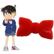 Conan-cambiador de voz con lazo rojo para niños, accesorios de disfraces de Cosplay, juguete, regalo divertido