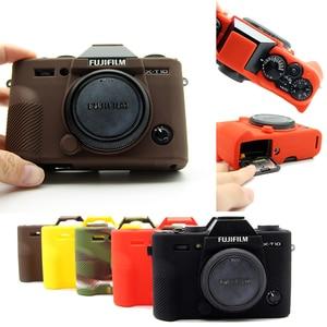 Image 1 - سيليكون المطاط حالة حقيبة كاميرا الجسم غطاء ل فوجي فوجي فيلم XT3 XT 3 XT10 XT20 X T30 X A3 X A10 X T20 X T100 حامي قذيفة
