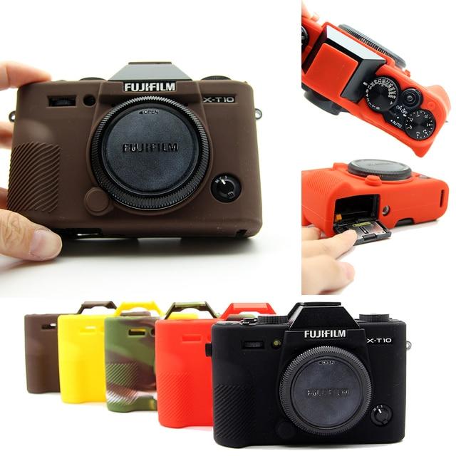 سيليكون المطاط حالة حقيبة كاميرا الجسم غطاء ل فوجي فوجي فيلم XT3 XT 3 XT10 XT20 X T30 X A3 X A10 X T20 X T100 حامي قذيفة