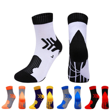 Breathable Socks Bike Football Cycling Calcetines Hiking Outdoor-Sport Running Women
