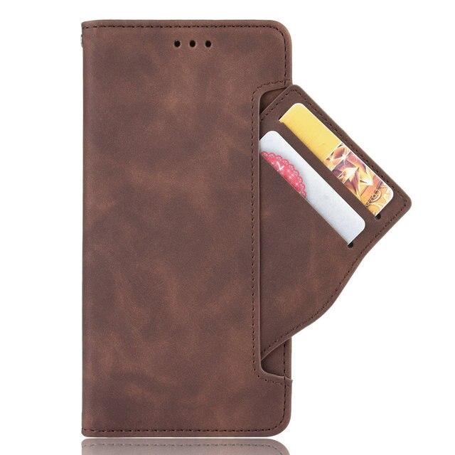 Étui à rabat en cuir avec fente pour carte, pour Xiaomi Mi 11i, Mi 10T Pro, 9 T, SE, T10, 9 T, A3, Redmi Note 10, Mi 11 Lite, Mi10 Ultra