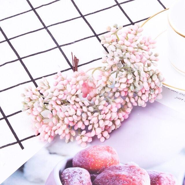6/30 pièces feuilles artificielles Simulation plante verte pour mariage fleur décoration bricolage boîte à bonbons accessoires Photo fond accessoires