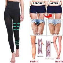ارتفاع الخصر الساق ملابس داخلية مكافحة السيلوليت ضغط طماق محدد شكل الجسم الفخذ أنحل التخسيس البطن مراقبة اللياقة البدنية سراويل