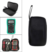 Multimeter Black Colth Bag of  23x14x5cm Durable Waterproof Shockproof Soft Case