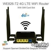 CAT4 CAT6 – routeur d'intérieur WiFi 3G4G LTE débloqué, Support Openwrt GoldenOrb/gargouille Firmware avec fente pour carte SIM