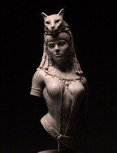 Boneco modelo de boneco de resina de busto 1/10, conjunto não pintado//bust480 (com base)