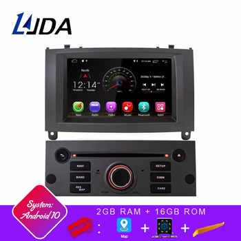 LJDA 1 Din Android 10.0 Car Radio For Peugeot 407 2004-2010 Car Multimedia Player Stereo Auto Audio GPS Navigation DVD Video DSP - DISCOUNT ITEM  20 OFF Automobiles & Motorcycles