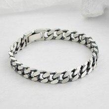 2020 new real solid S925 pure silver sideways woman bracelet couple bra