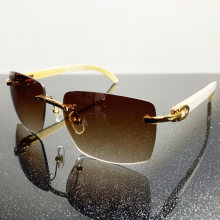 Большие солнцезащитные очки большие квадратные деревянные мужские