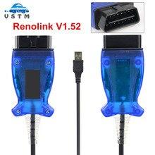 كابل تشخيص السيارة RENOLINK V1.52 ECU مبرمج Renolink V1.52, RENOLINK V1.52 Key/ECM/UCH/Programmer OBD2