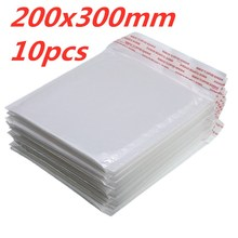 10 PCS/Lot White Foam Envelope Bag Different Specifications  Mailers Padded Shipping With Bubble Mailing Hot Sale