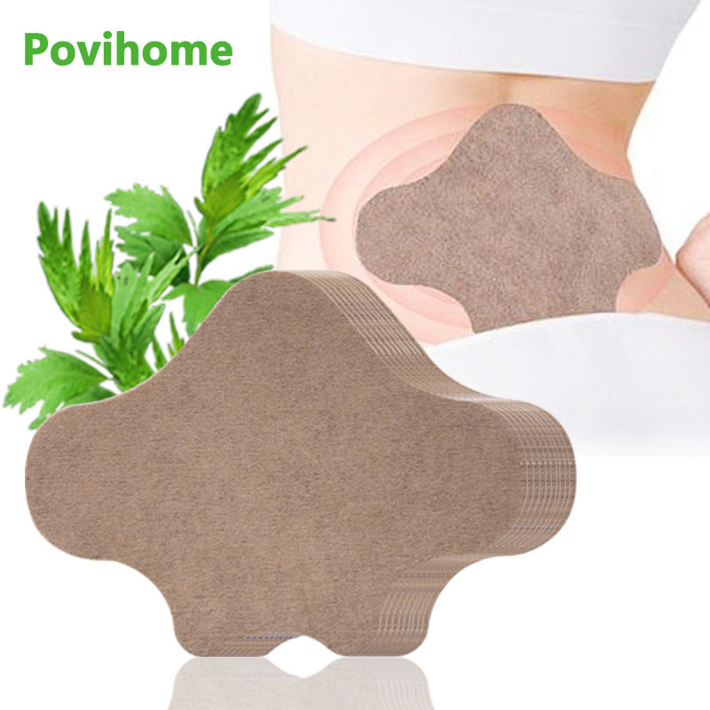 24pcs Arthritis Moxibustion Stickers Back Pain Patch Lumbar Medical Plaster Self-heating Wormwood Pain Relief D2527