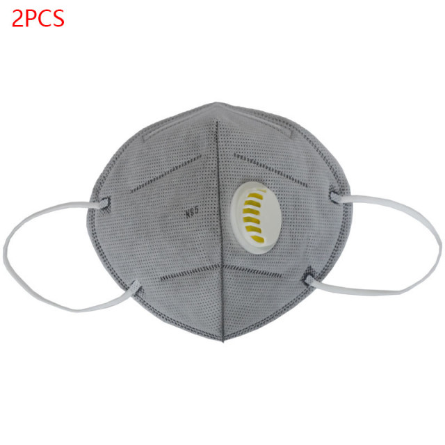 4PCS/Set KN95 PM2.5 Respirator Face Mask Anti Flu Prevention Dust Pm 2.5 Filter Breathing Valve Mouth Masks N95 Mouth Masks 1