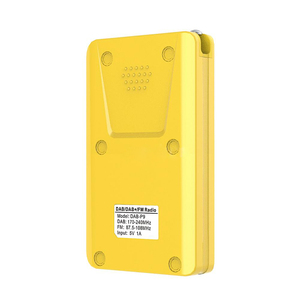 Image 5 - 2020 NEW P9 Mini Pocket Radio Portable DAB+ Digital Radio Rechargeable Battery FM Radio LCD Display EU P9 DAB+Loudspeaker