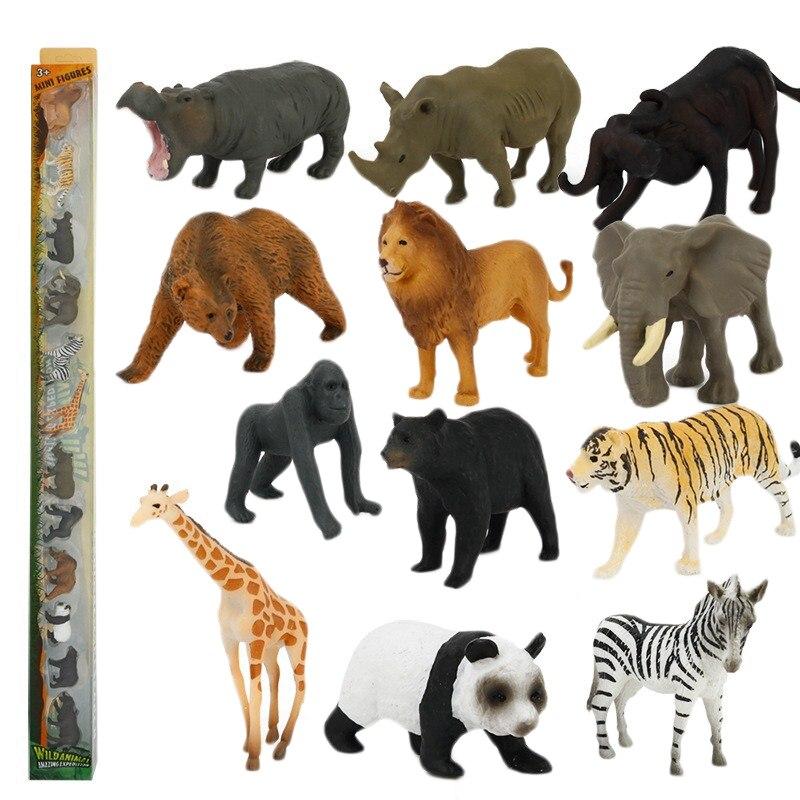 Kid Biology Dinosaur Safari Toy Marine&Wildlife Animals Science Educational Cognitive Simulation Model Children'S Learning Toys,