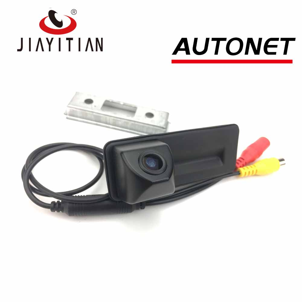 JIAYITIAN HD Car Trunk Handle Camera For Skoda Octavia A7 2014 2013 2012 2011 2010 Rear View Camera Backup Camera