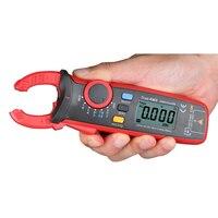 Mini Stroomtang Ampèremeter Voltmeter Weerstand Capaciteit Tester Digitale Auto True RMS Multimeter Aarde Grond Multimeter