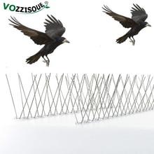 新アップグレード 6 メートルプラスチック鳥と鳩スパイク抗鳥アンチ鳩ハトの取り除くスパイクと恐怖鳥害虫駆除