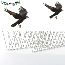 New Upgrade 6M Plastic Bird and Pigeon Spikes Anti Bird Anti Pigeon Spike for Get Rid of Pigeons and Scare Birds Pest Control