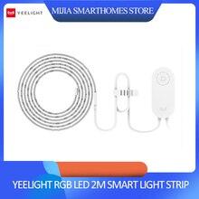Xiaomi Yeelight RGB LED 2M Intelligente Luce di Striscia Smart Home, Casa Intelligente per APP WiFi Funziona con Alexa Google Assistente Casa 16 milioni di Colorato