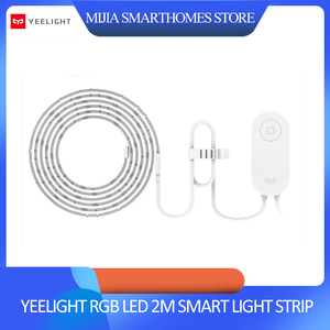 Image 1 - Xiaomi Yeelight RGB LED 2M Smart Light Strip Smart Home for APP WiFi Works with Alexa Google Home Assistant 16 Million Colorful