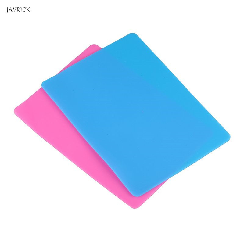JAVRICK DIY Silicone Mold Mat Resin Pad Craft Tool High Temperature Resistance Sticky Plate