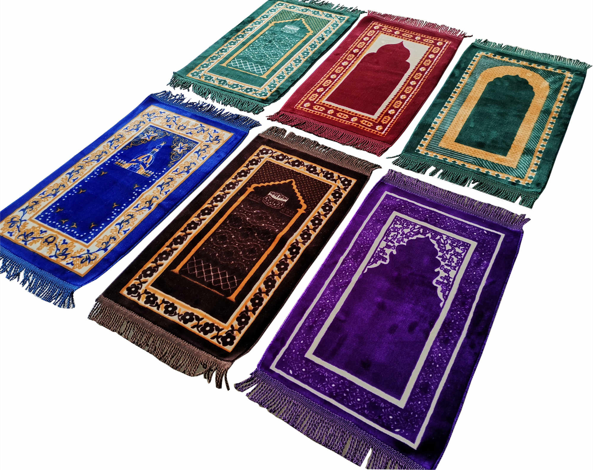 Anak-anak Tikar Doa Anak-anak Shalat Karpet Janamaz Muslim Salah Namaz Sajadah Tikar 35 × 60 Cm