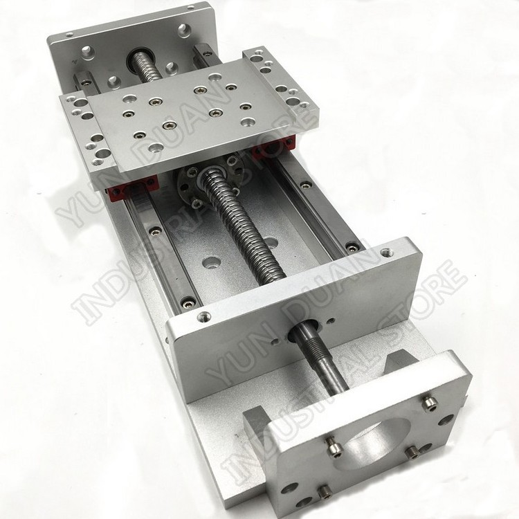 """20 """"500 MM course XYZ axe croix électrique Table coulissante linéaire étape SFU1605 vis à billes HG15 plate-forme de guidage forage de CNC"""