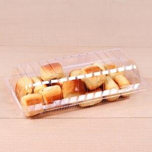 100 шт [в микроволновую печь] различные прозрачные блистерные коробки, коробки для выпечки хлеба, коробки для тортов