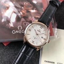 Omega- men's quartz watch strap watches fashion classic Men