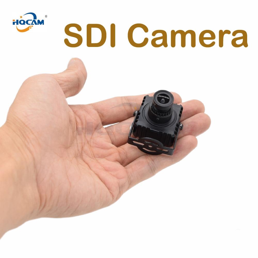 HQCAM HD 1080P SDI Mini Camera 2.0MP 1/3 Panasonic Starlight 0.0008LUX Mini Sdi Camera Support TVI/CVI/AHD/CVBS/E-SDI/SDI System